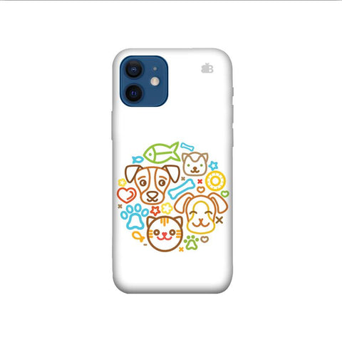 Cute Pets iPhone 12 Pro Phone Cover
