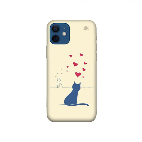 Kitty in Love iPhone 12 Pro Phone Cover