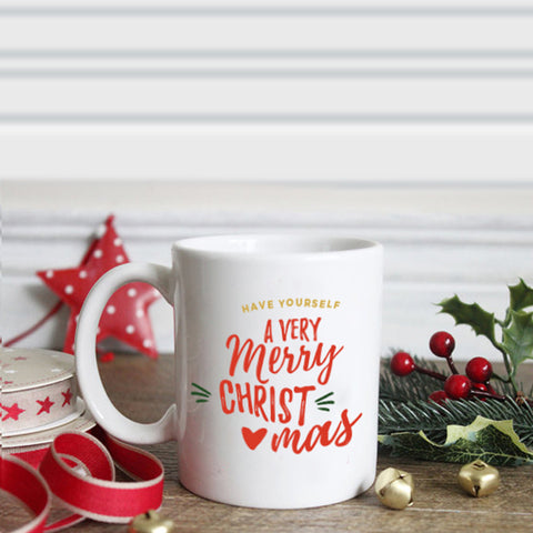 Merry Christmas Personalized Mug