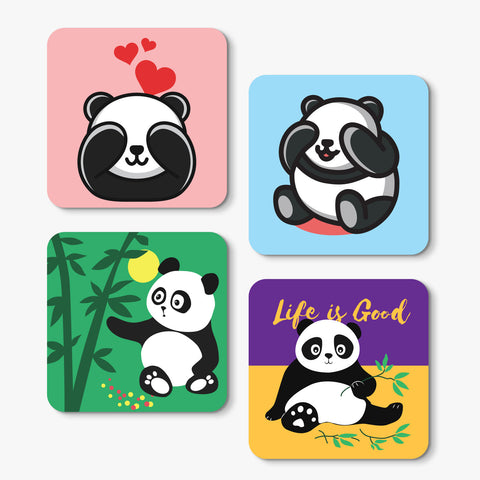 Panda collection Coaster