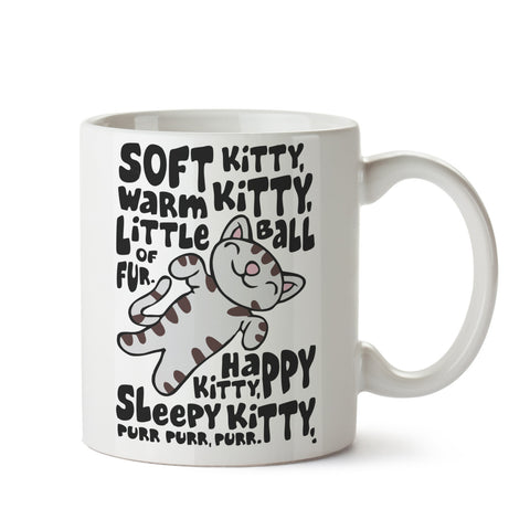 Soft Kitty White Coffee Mug
