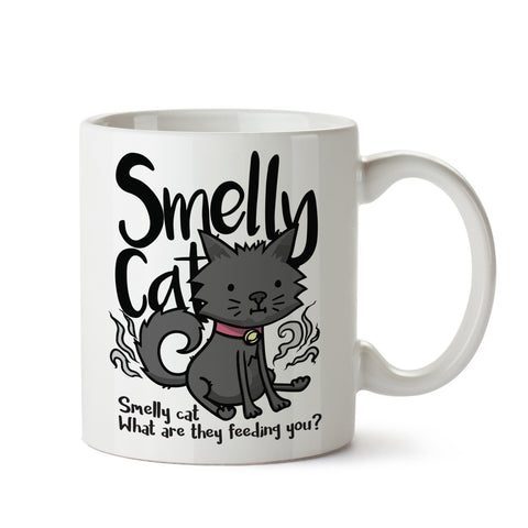 Smelly Cat White Coffee Mug
