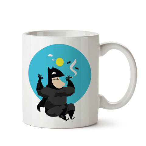 Chillin' SuperHero White Coffee Mug