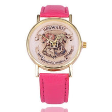 Harry Potter Magic School Watches For Women Men 2019 Fashion Casual Leather Quartz Watch Students Wristwatch Relogio Feminino