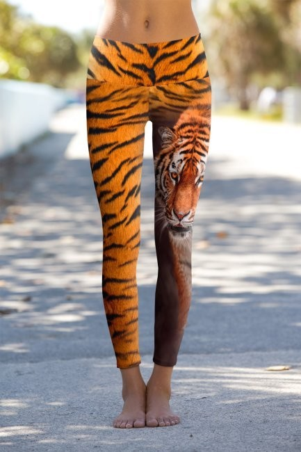 #Tiger Yoga - Eco-Friendly Power Leggings