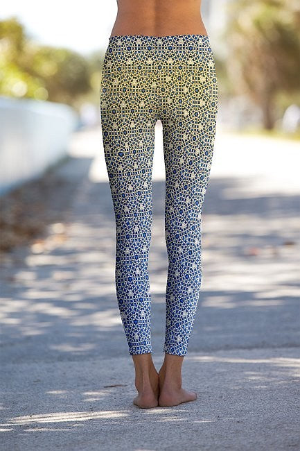 #Mosaic Yoga - Eco-Friendly Power Leggings