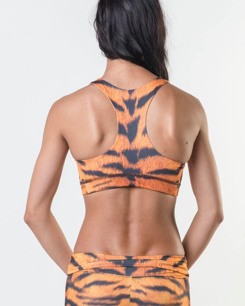 Tiger Yoga - Eco-Friendly Reversible Bra