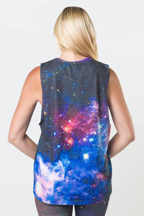 #Carina Nebula Galaxy - Dropped Armhole Tank Top