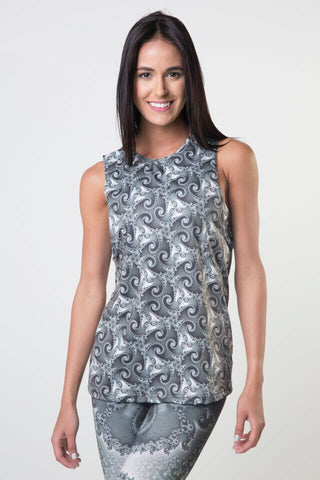 #Durga Goddess - Dropped Armhole Tank Top