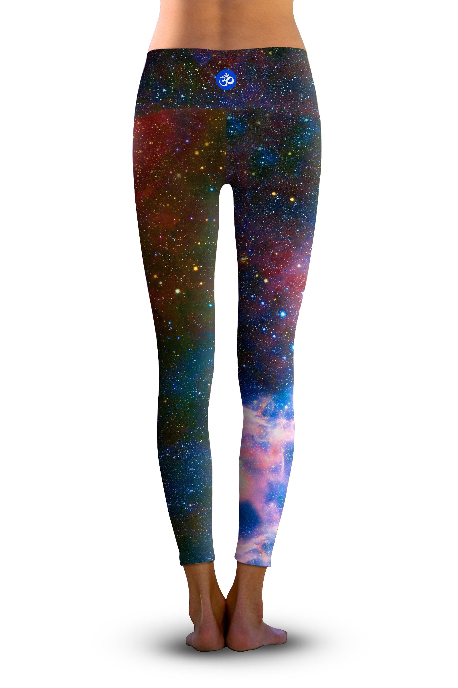 #Carina Nebula Space Galaxy, Eco-Friendly Active Performance Leggings