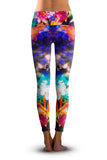 2nd Gen. Birds of Paradise, Eco-Friendly Active Performance Leggings