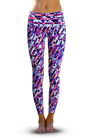 2nd Gen. Wild Asian Delight, Eco-Friendly Active Performance Leggings