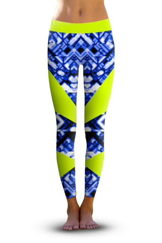 2nd Gen. Painterly Camo, Eco-Friendly Active Performance Leggings