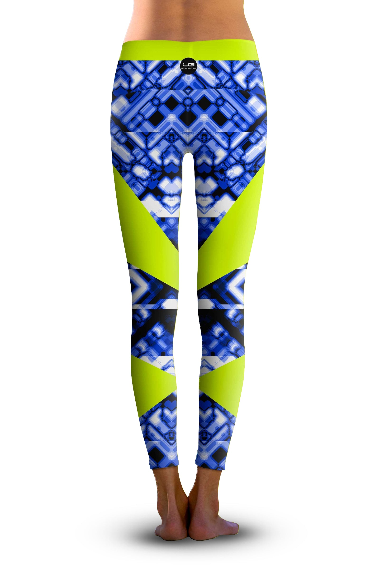 #Techno Tronic, Eco-Friendly Active Performance Leggings