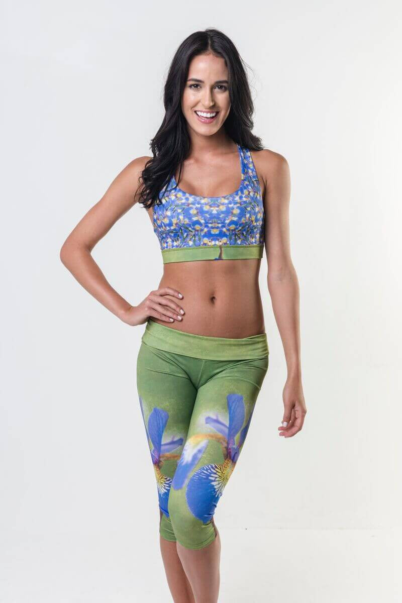 #Glowing Iris - Eco-Friendly Reversible Bra