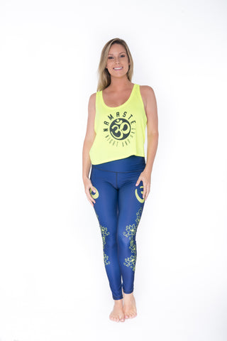 Mindful Tank Top - Yellow