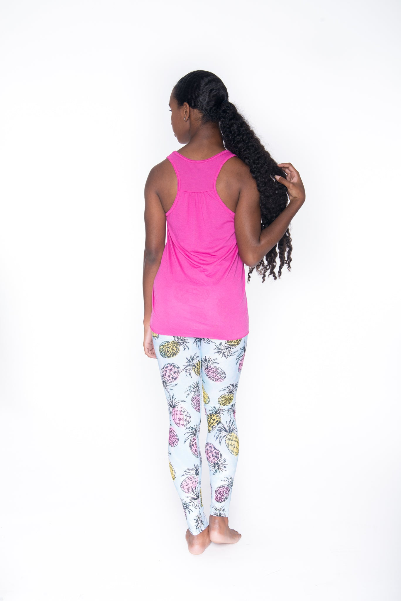 #Breathe Racerback Tank Top - Pink