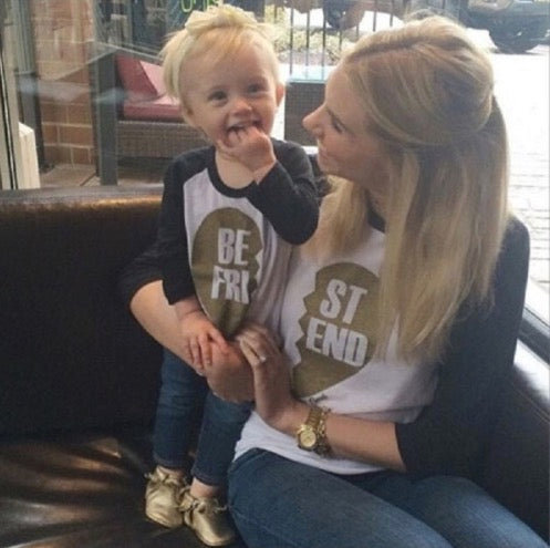 "PRE-ORDER Mommy & Me ""Best Friends"" Matching T-Shirts - La Bella Amore' Boutique"