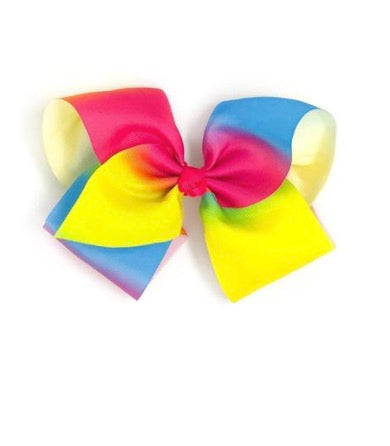 "6"" Large Rainbow Bow - La Bella Amore' Boutique"