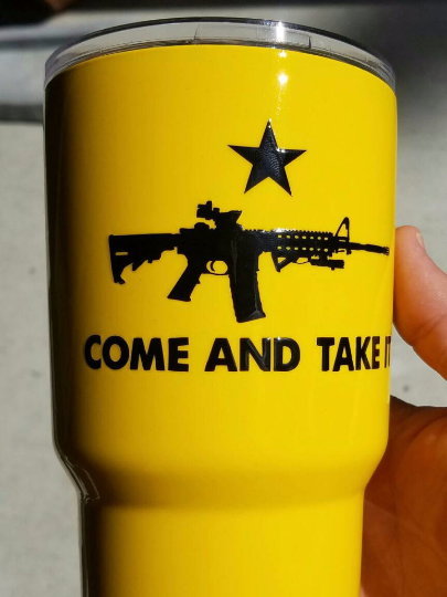 RTIC, OZARK stainless Steel Cup, Gadsden Flag