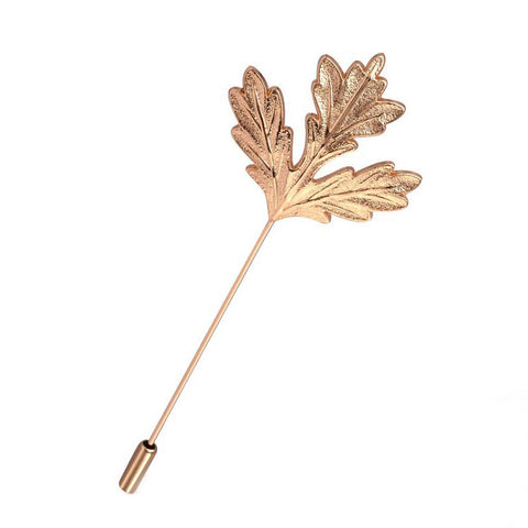 Maple Leaf Lapel Pin - WooBowtie