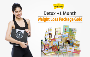 Detox +1 Month Weight Loss Package Gold