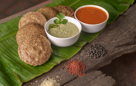Mighty Millet Idli