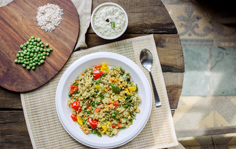 Protein upma is a ready-to-cook breakfast