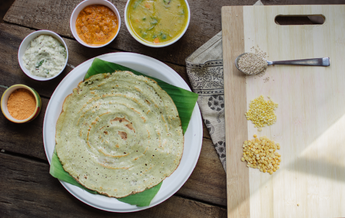 ready-to-cook dosa mix made of Quinoa and Pulses