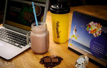 Whey protein truweight shake-a-day