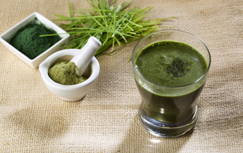 Trugreen contains spirulina, wheatgrass, moringa, spinach
