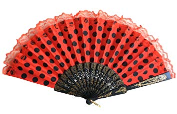 FLAMENCO HAND FAN (pick up at the venue)