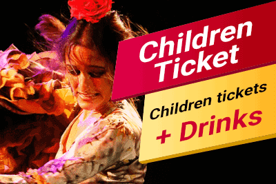 Flamenco Show. Children tickets