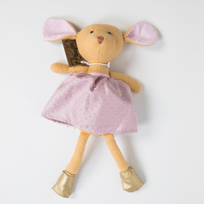 Hazel Village Doll - Annicke Mouse in Lavender Sparkle