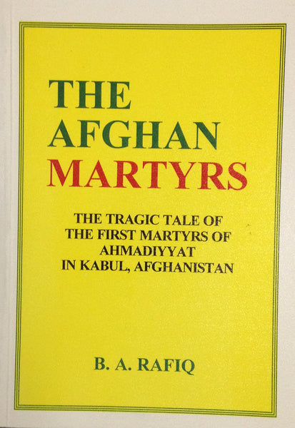 The Afghan Martyrs