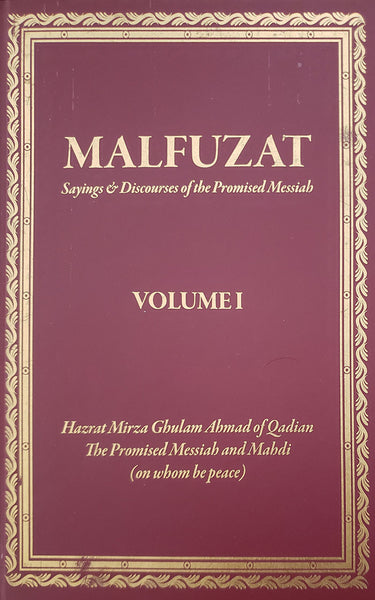 Malfuzat - Part 1 English