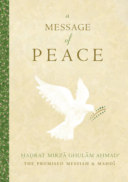 A Message of Peace