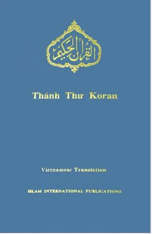 Vietnamese - Holy Quran with Vietnamese translation