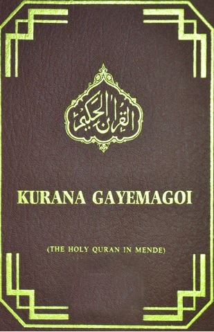 Mende - Holy Quran with Mende translation
