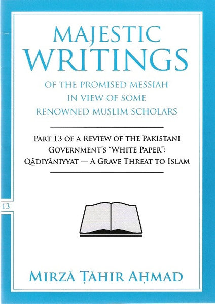 Majestic Writings of the Promised Messiah