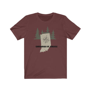 INDIANA CROSSROADS OF AMERICA - Jersey Short Sleeve Tee