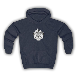 MOUNTAIN CLIMBING - Youth Hoodie