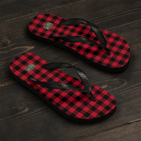 PLAID TO MEET YOU - Flip-Flops - American Style Clothing Company