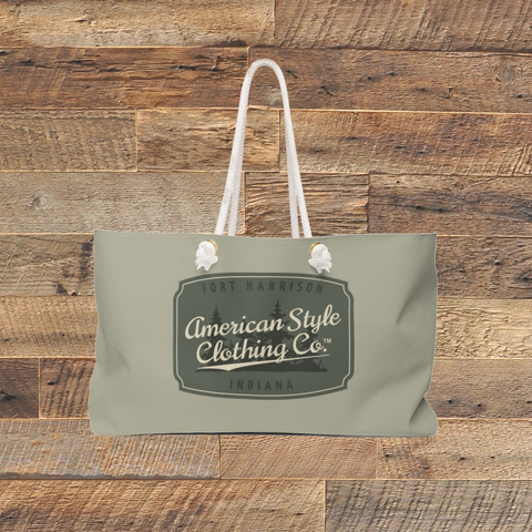 AMERICAN STYLE LOGO - Weekender Bag - American Style Clothing Company