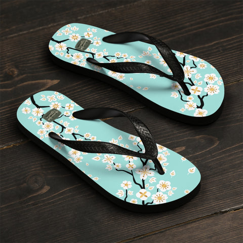 CHERRY BLOSSOMS - Flip-Flops - American Style Clothing Company