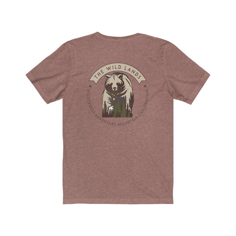 BEAR COUNTRY - Men's Jersey Short Sleeve Tee - American Style Clothing Company