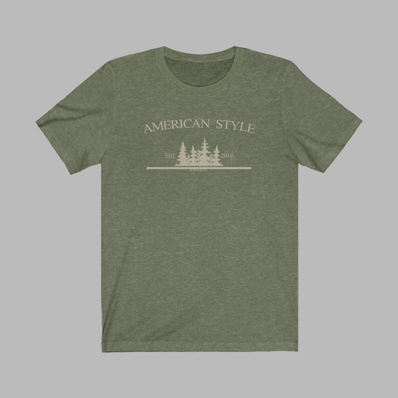 AMERICAN STYLE CLOTHING CO. - Jersey Short Sleeve Tee
