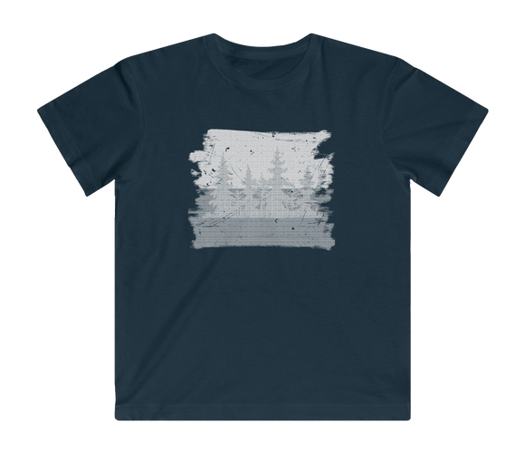 DISTRESSED TREES - Fine Jersey Tee