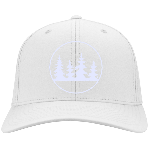 WHITEOUT TREES - Flex Fit Twill Baseball Cap