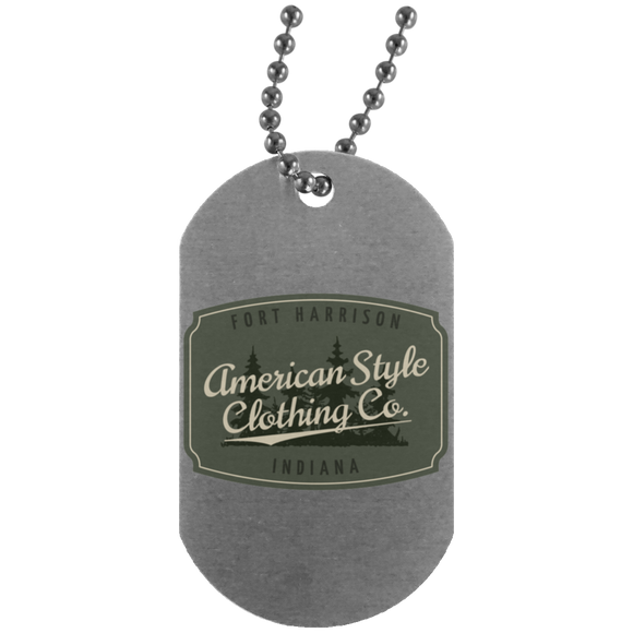 AMERICAN STYLE CLOTHING CO. - Silver Dog Tag